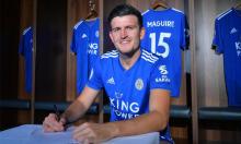 Harry Maguire 'giúp' Leicester đè bẹp Man Utd
