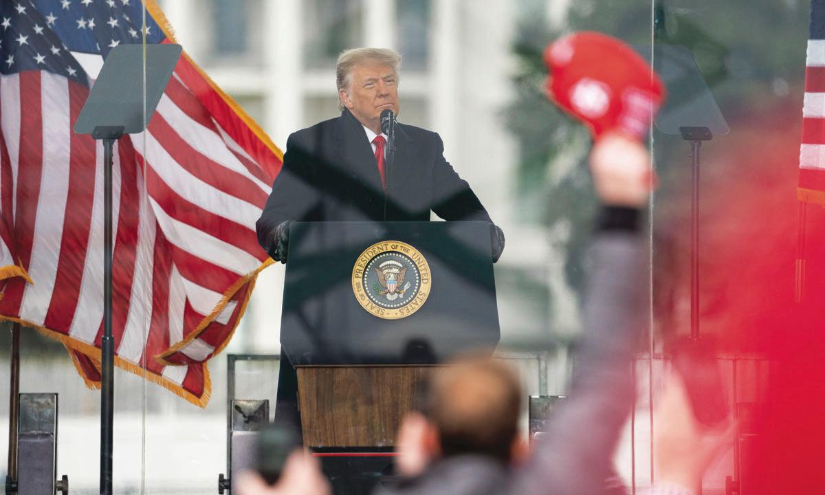 Trump khởi kiện ngăn tiết lộ hồ sơ bạo động Đồi Capitol