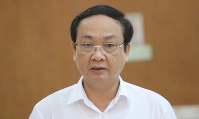 Nguyên Phó chủ tịch thành phố Hà Nội bị cảnh cáo