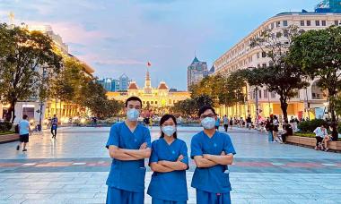 Bác sĩ trẻ chống dịch: '2 tháng chi viện đáng giá bằng 5 năm hành nghề'